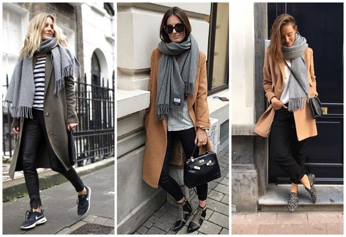 Серый цвет в одежде для женщин, мужчин. С какими оттенками сочетается, фото, колористика