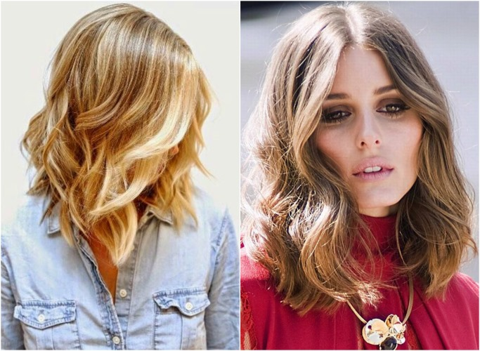 Стрижки для вьющихся волос средней длины для женщин. Фото без укладки, с челкой