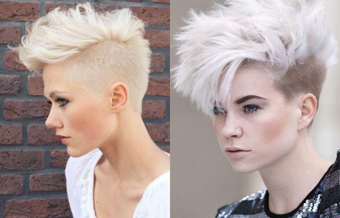 Стрижки на очень короткие волосы для женщин, с челкой и без. Фото модные ультракороткие