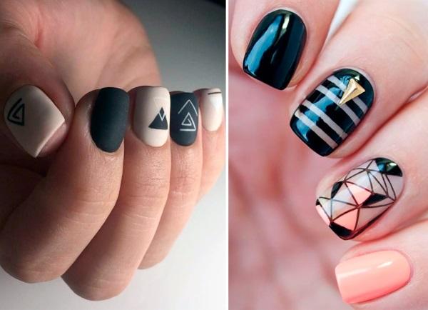 Дизайн на квадратные ногти 2020. Фото маникюра, новинки, яркие летние цвета