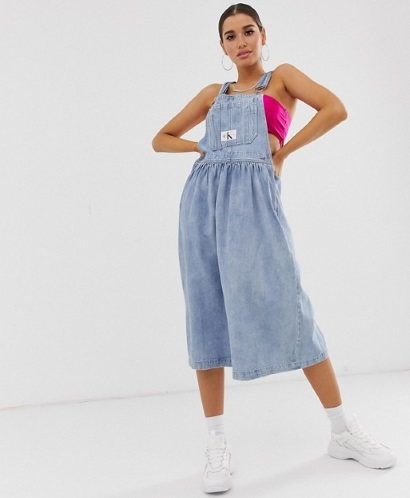 Джинсовые сарафаны женские 2020. Фото длинные модели, для полных, беременных