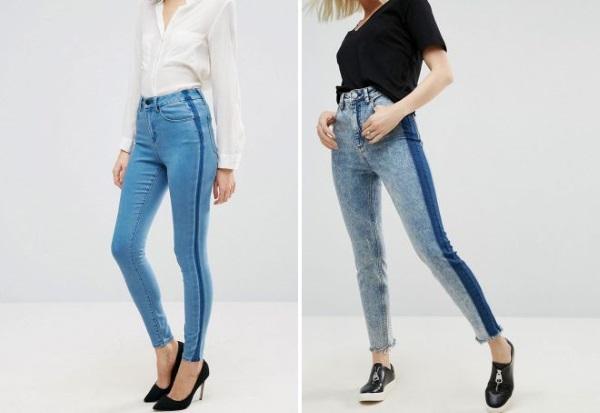 Женские джинсы с лампасами. Модно или нет в этом году, с чем носить, фото