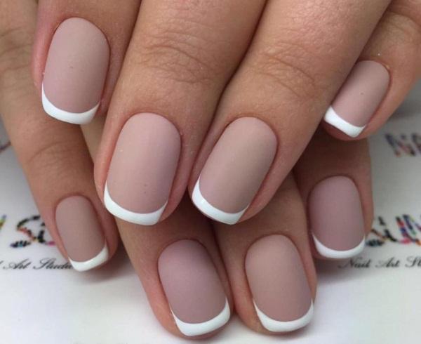 Нежный френч. Фото маникюра, новинки дизайнов, красивые рисунки на ногтях