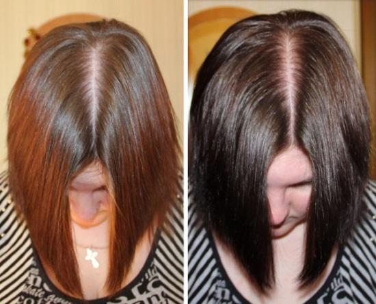 Цвет мокко на волосах. Фото, краски Матрикс, Эстель, Тоника, Лонда