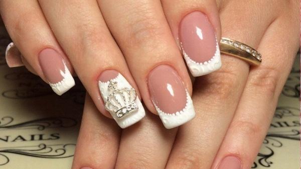 Выкладка страз на ногтях. Фото маникюра, красивые варианты, идеи, схемы