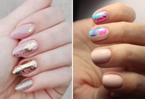 Дизайны ногтей розового цвета на короткие и длинные ногти. Фото
