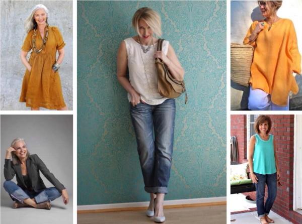 Как стильно одеваться женщине в 50 лет. Фото, базовый гардероб от Эвелины Хромченко, что с чем носить