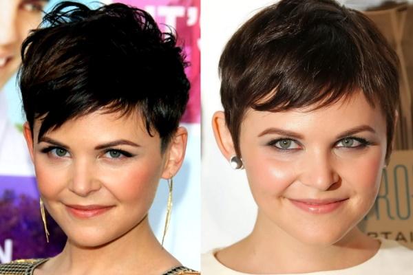 Короткие стрижки на круглое лицо. Фото для женщин с тонкими, вьющимися волосами, челкой