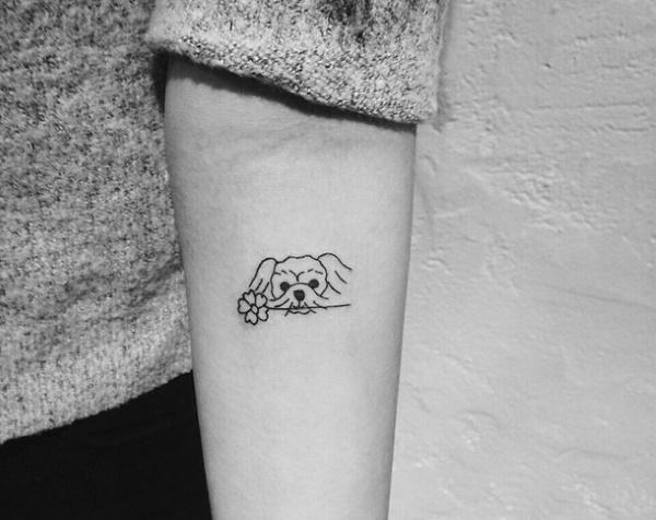 Маленькие татуировки на руке для парней, девушек. Эскизы, фото, значение