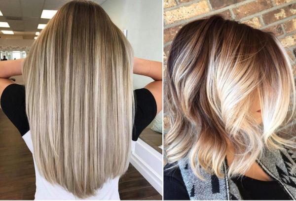 Модные тенденции в окрашивании волос 2019. Фото, техники