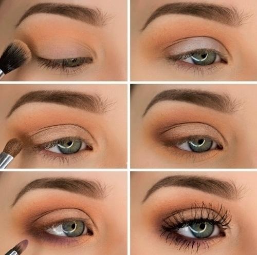 Как сделать правильный макияж для брюнеток, блондинок, шатенок пошагово с фото