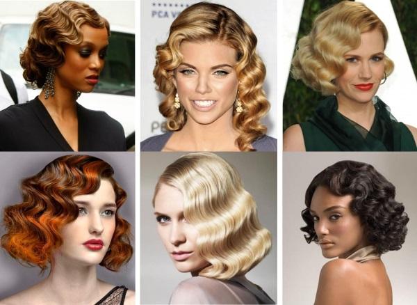 Прически на средние волосы для женщин 40-50 лет, на каждый день, торжество. Фото