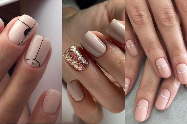 Модные дизайны на короткие ногти гель-лаком 2020. Фото новинки, техники