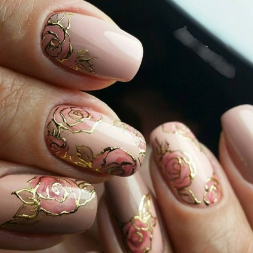 Гель-лак на коротких ногтях. Фото, дизайны, цвета, тенденции 2020 года