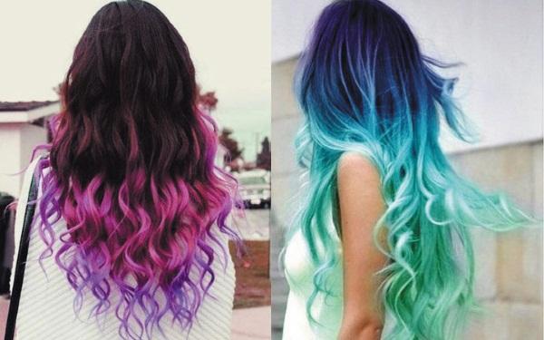 Как покрасить волосы по плечи