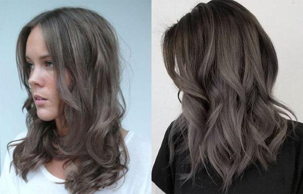 Пепельно-каштановый цвет волос. Фото, кому идёт, как добиться, краски