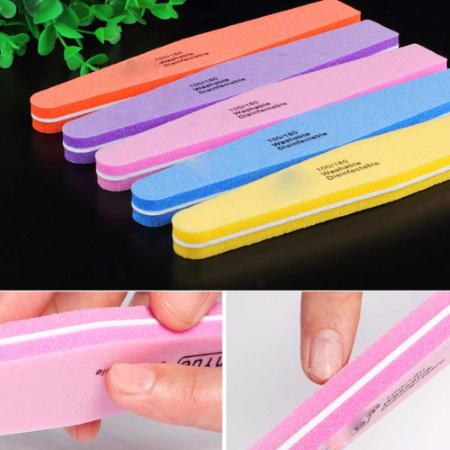 Пилки для ногтей: одноразовая, электрическая, лазерная, стеклянная, керамическая. Виды, абразивность, какая лучше