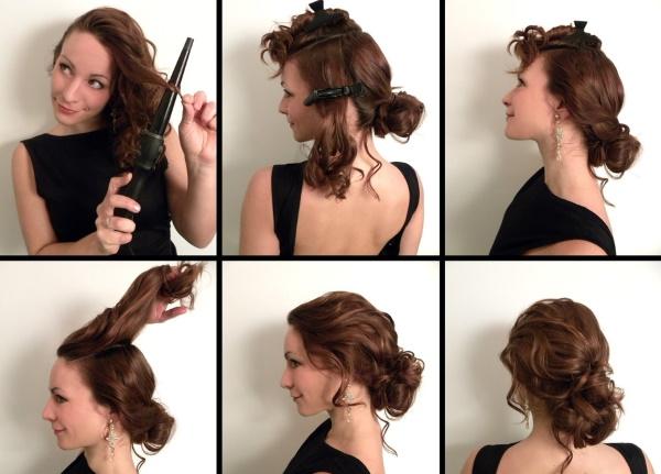 Прически на выпускной на средние волосы 9-11 класс. Фото, как сделать с челкой и без