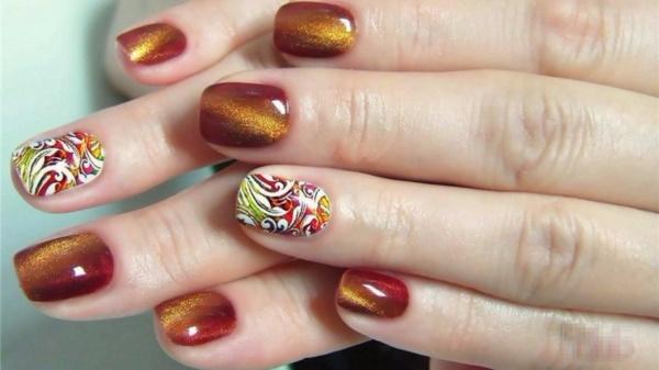 Как сделать красивый маникюр на коротких ногтях. Фото