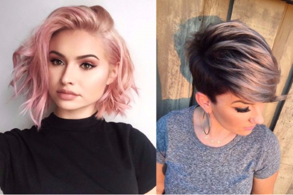 Необычные тренды и техники в окрашивании волос. Фото, модные тенденции