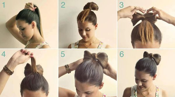 Простые прически на средние волосы на каждый день, праздник, для подростков. Фото, как сделать пошагово