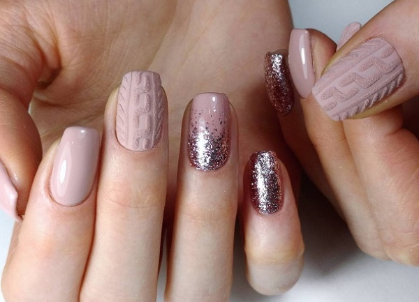 Дизайн ногтей легкий и красивый. Фото, как сделать маникюр гель-лаком, шеллаком