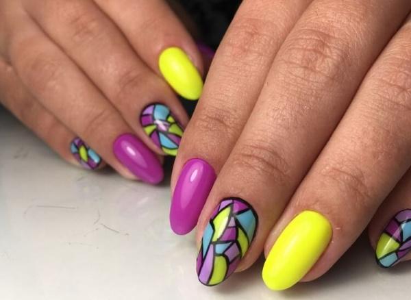 Дизайн ногтей простой и красивый. Фото пошагово гель-лаком, шеллаком