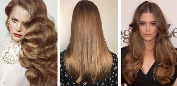 Лесной орех цвет волос. Фото до и после окрашивания, кому подходит, краски Капус, Гарньер, Лореаль, Эстель