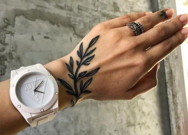 Эскизы тату на руку для девушек. Фото