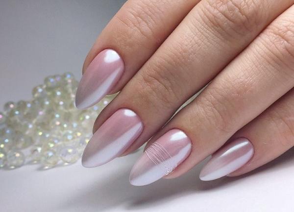 Маникюр однотонный гель-лаком на короткие и длинные ногти. Фото, модные дизайны