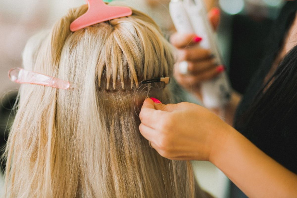 Наращивание волос на короткие волосы. Фото до и после ленточного, голливудского, капсульного. Цена