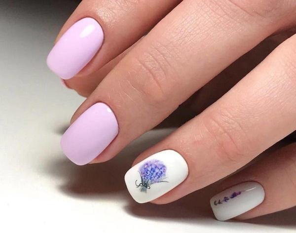 Повседневный маникюр гель-лаком. Фото на короткие, длинные ногти с блестками, рисунком, стразами, втиркой