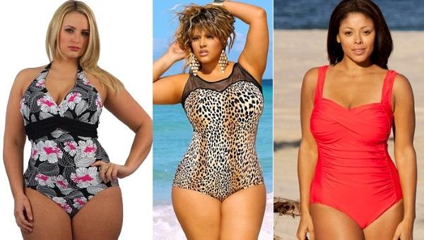 Купальники для полных женщин, больших размеров, беременным, фото