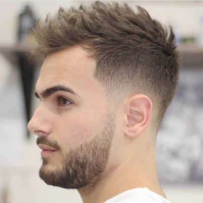Лучшие мужские прически 2020 для кудрявых волос, лысеющих, короткие, мужчин с бородой. Фото