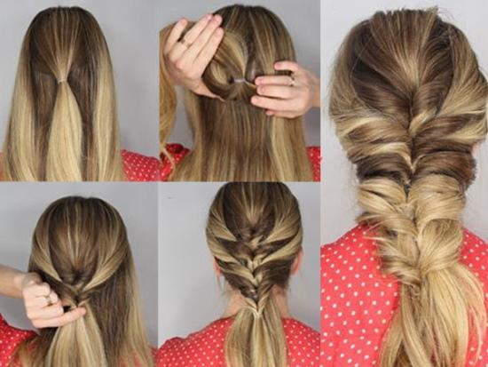 Прически на длинные волосы на выпускной 9-11 класс для девушек. Фото