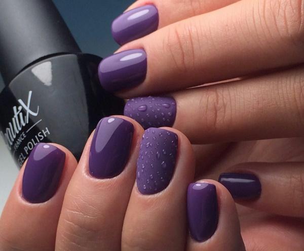 Сиреневые ногти дизайн. Фото со стразами, фиолетовые с цветочками, рисунком