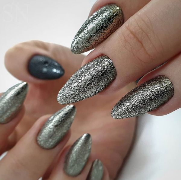 Пенный маникюр (Bubbles nails) с пузырьками воздуха, мыльными, объемными. Фото, как делать дизайн ногтей