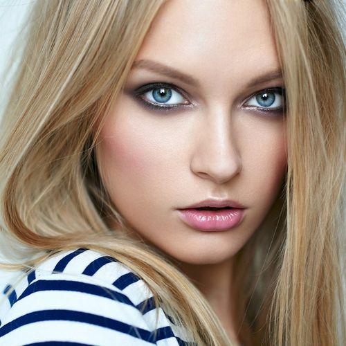 Красивые цвета волос для карих, голубых, зеленых глаз. Фото до и после