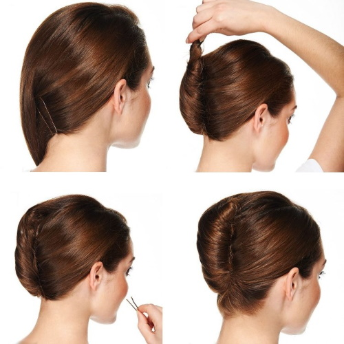 Офисные прически на средние волосы, длинные, короткие для женщин. Фото