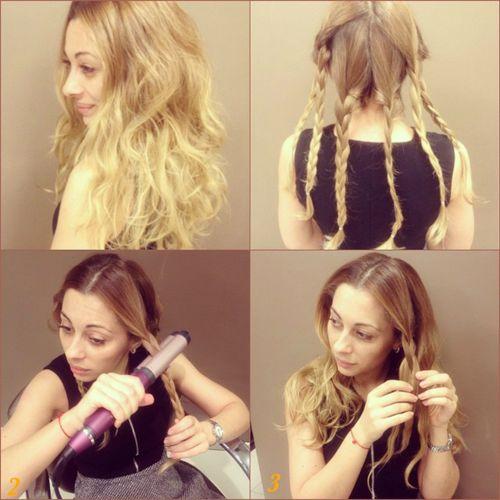 Пляжные локоны на средние волосы, длинные, короткие. Фото, как сделать утюжком, плойкой