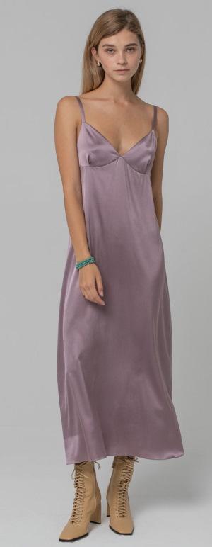 Шелковое платье на тонких бретельках, на запах, комбинация, рубашка. Фото, с чем носить