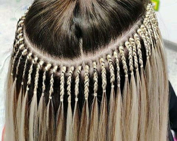 Как вплетать канекалон в волосы. Фото, видео-уроки пошагово
