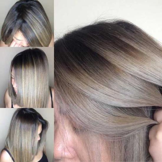 Пепельный русый цвет волос. Фото, кому подойдет, краски, как покраситься