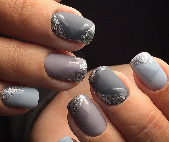 Нейтральный маникюр гель-лаком на коротких ногтях, длинных. Фото