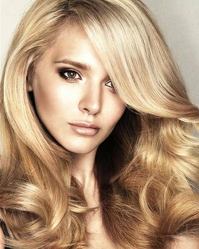 Песочный цвет волос. Фото до и после с мелированием, краска