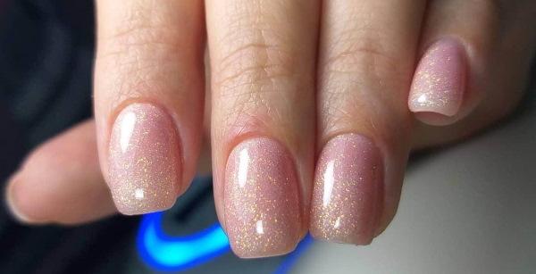 Маникюр камуфляж с блестками. Фото на короткие, длинные ногти лунный, со стразами, растяжками