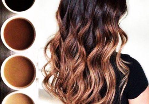 Горячий шоколад цвет волос. Фото до и после окрашивания, краска
