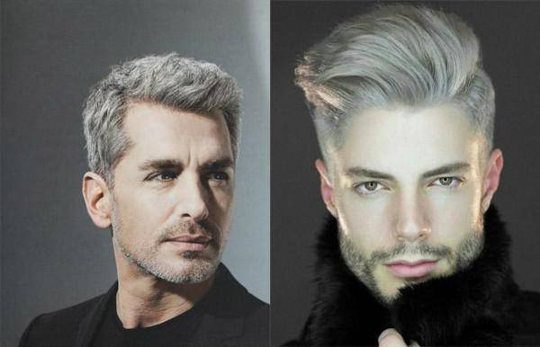 Белый цвет волос у парней. Кому идет, как покрасить